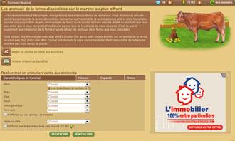 Farmzer - Comprar un animal en una subasta y otras interacciones